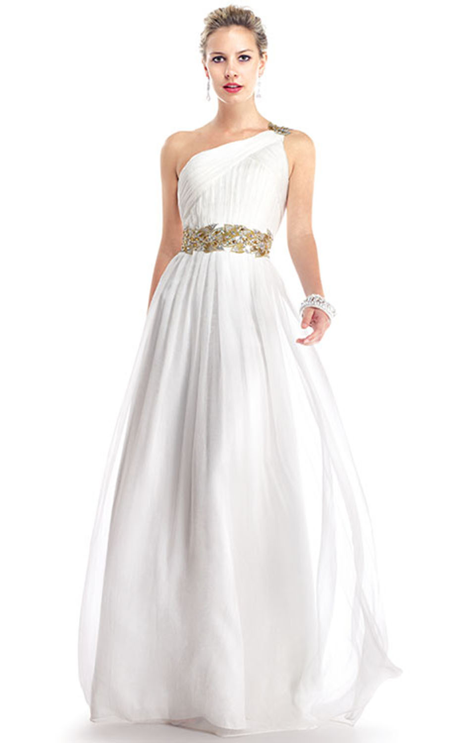 0912 - Grecian Wedding Dress